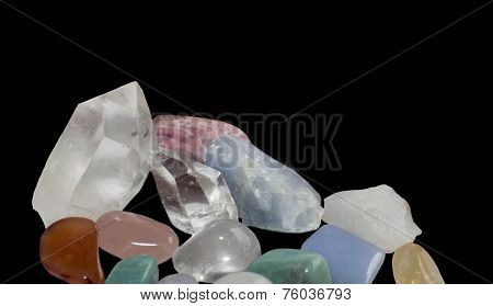 Semiprecious gemstones margin