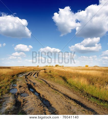 Muddy Dirt Road