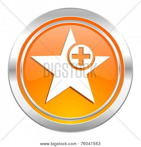 star icon, add favourite sign