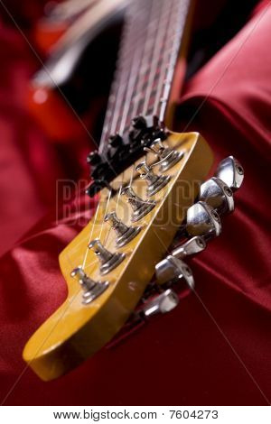 Guitar Head Close-up
