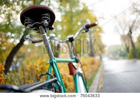 Mountain bike. Active leisure on the nature