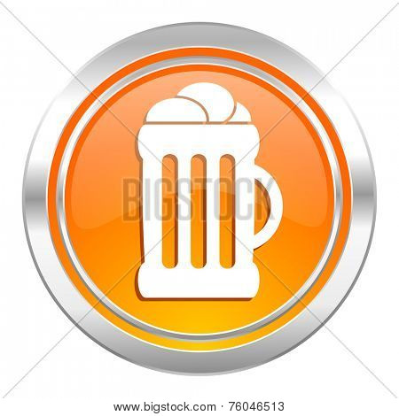 beer icon, mug sign
