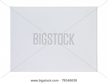 Blank Stretched Artist's Canvas