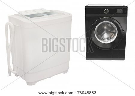 The image of washer under the white background