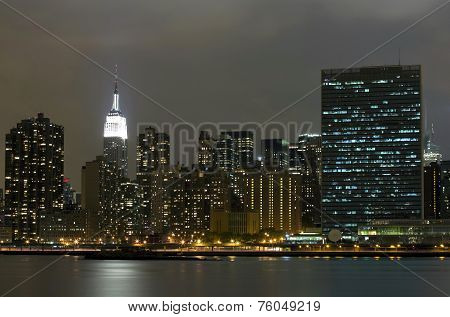 Manhattan Viewed From Long Island City