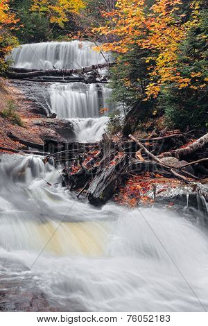 Michigan's Sable Falls