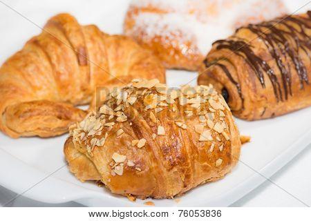Croissants Close Up