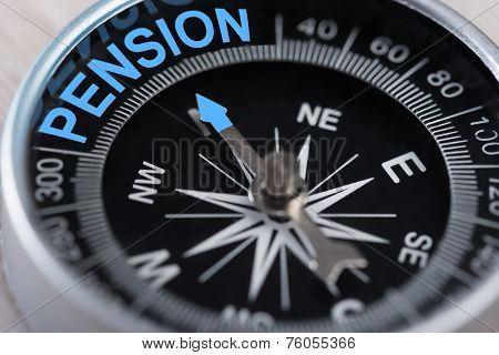 Compass Indicating Pension
