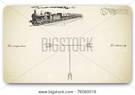 Old Postcard.