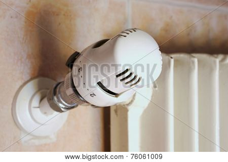 Thermostatic Valve Of The Heater To Save Gas