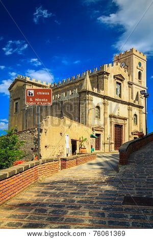 Church Of St. Nicolo In Savoca, Sicily