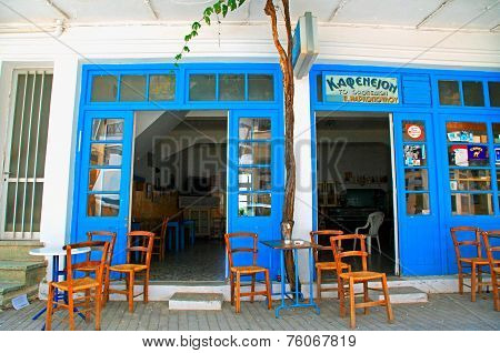 Old Greek Cafe, Crete