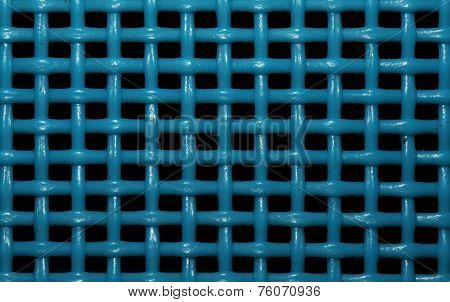 Abstract blue grid background