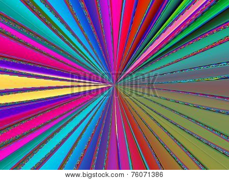 Rainbow Colored Rays Texture Background