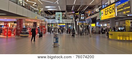 Amsterdam - Schiphol Plaza At Schiphol Airport