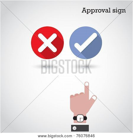Approval Concept.