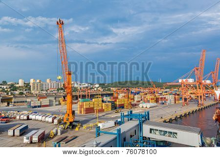 Deepwater Container Terminal In Gdansk