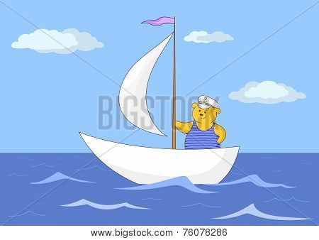 Teddy-bear seaman