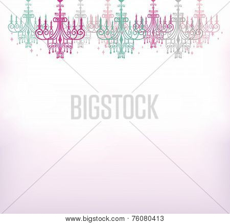 This is an illustration of the chandelier.