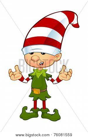 Cute Elf Character