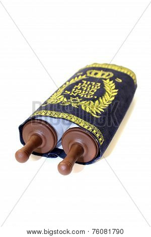 Torah Scroll With Cover