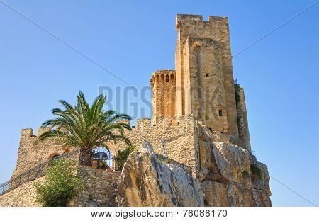 Castle of Roseto Capo Spulico. Calabria. Italy.