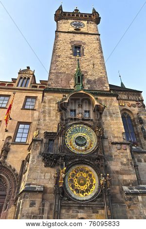 Prague Astonomical Clock tower.