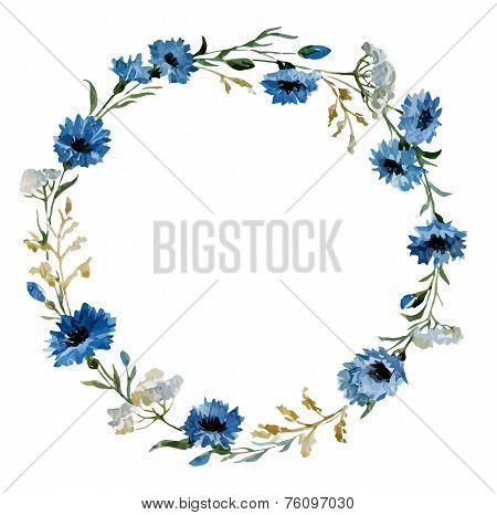 Blue flowers 12