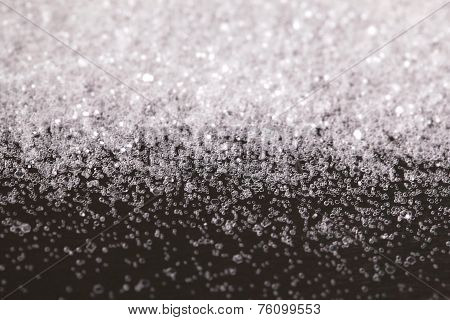 Christmas New Year Snow White Silver Glitter background. Holiday abstract texture