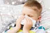 picture of rhinitis  - childhood - JPG