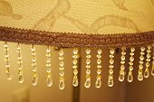 foto of lamp shade  - The decorative element of shade for floor lamp - JPG