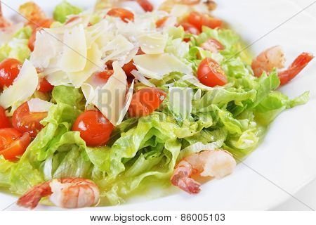 Salad With Seafood
