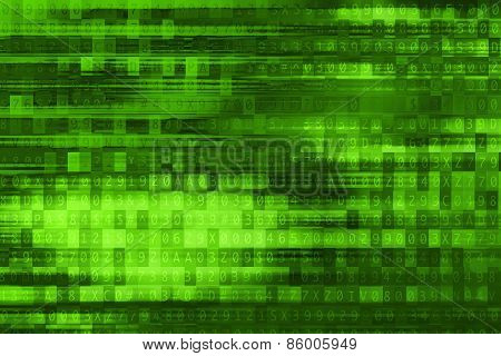 Digital Green Background