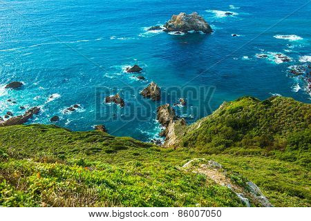 Ocean Shore Coastal California