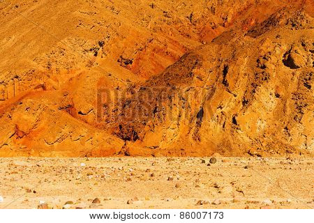 Raw Death Valley Badlands
