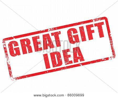 Great Gift Idea Stamp