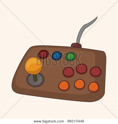 Game Control Theme Elements Vector,eps