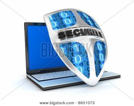 Laptop e Shield Antivirus