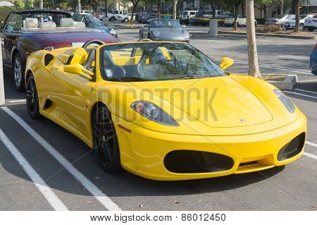 Ferrari F430 Spider Convertible On Display