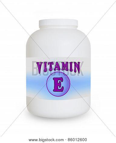 Vitamin E Container