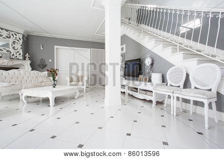Designed Furniture In Classic Interior