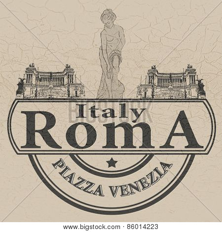 Italy Roma Stamp