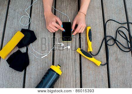 Sport mobile application
