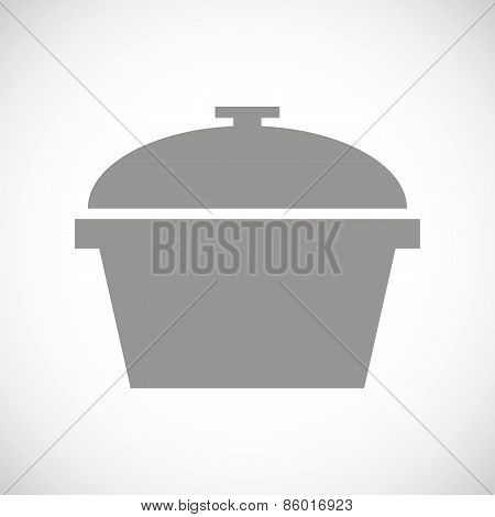 Pan black icon