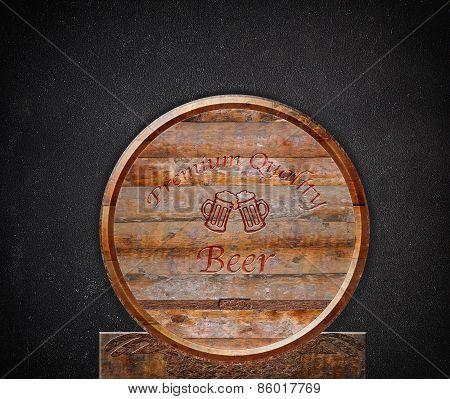 Barrel Beer.