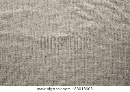 Rough Texture Fabric Of Beige Color