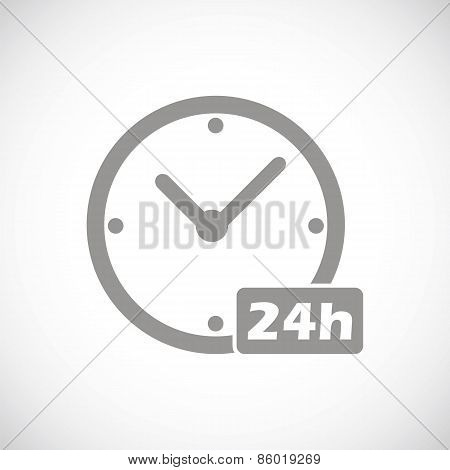 Clock black icon