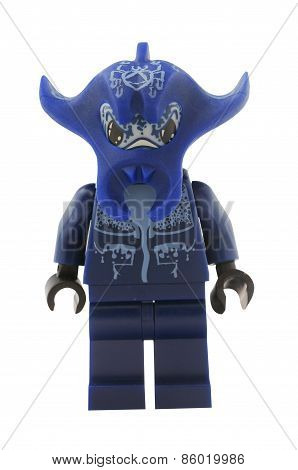 Atlantis Manta Warrior Lego Minifigure