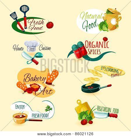 Cooking Emblems Set
