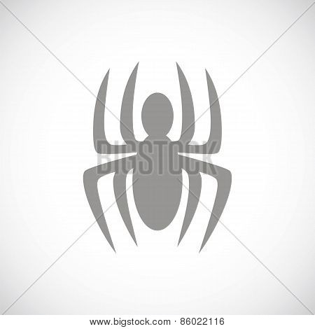 Spider black icon
